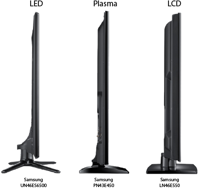 plasma vs led thickness and weight. Black Bedroom Furniture Sets. Home Design Ideas