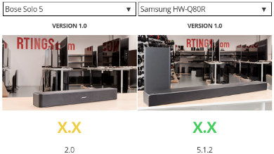 Compare soundbars